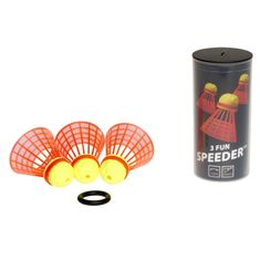 SpeedMinton žogice FUN speeder (3 kom)