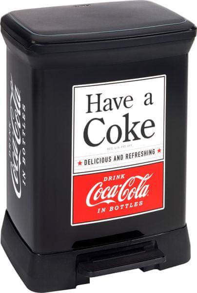 Curver Decobin 30l Coca Cola