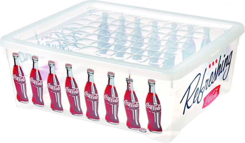 Curver Úložný box Coca-Cola 10 l