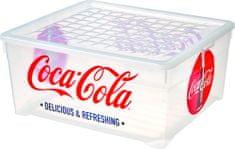 CURVER Pojemnik z pokrywką Deco CocaCola, 18,5l