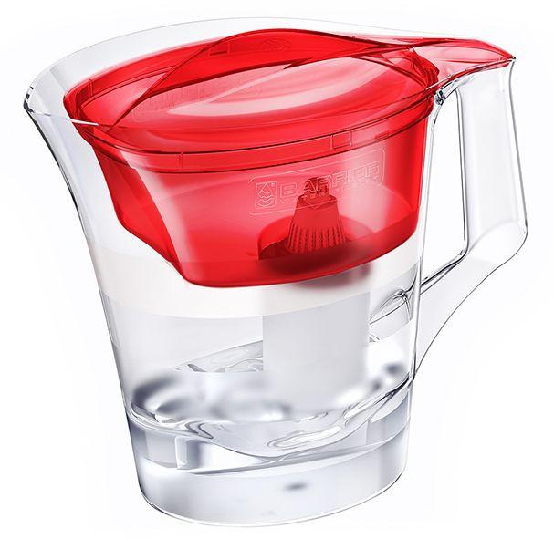 Barrier Twist filtrační konvice na vodu červená