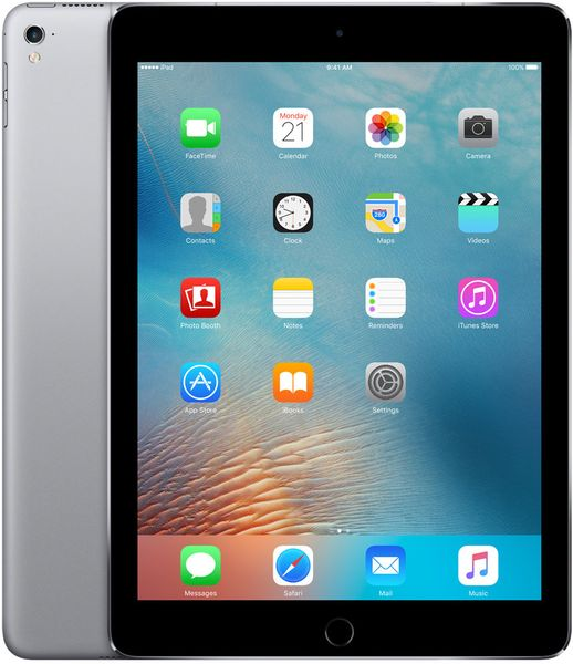 "Apple iPad Pro 9,7"" Wi-Fi Cellular 32GB Space Gray (MLPW2FD/A)"