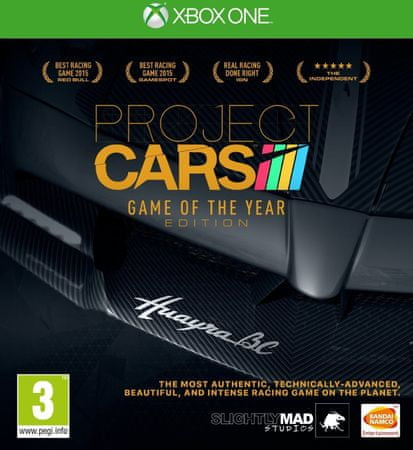 Slightly Mad Studios Project CARS Game of the Year Edition (xbox one)