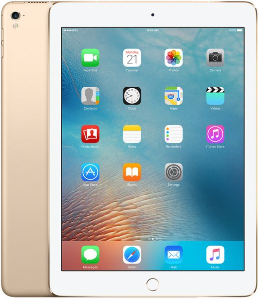 "Apple iPad Pro 9,7"" Wi-Fi Cellular 32GB Gold (MLPY2FD/A)"