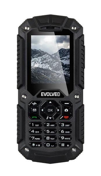 Evolveo StrongPhone X2, vodotěsný odolný Dual SIM telefon - II. jakost