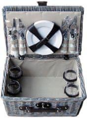 TORO Piknik kosár 40x28x18 cm