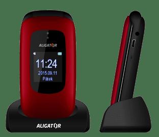 Aligator V600, červený