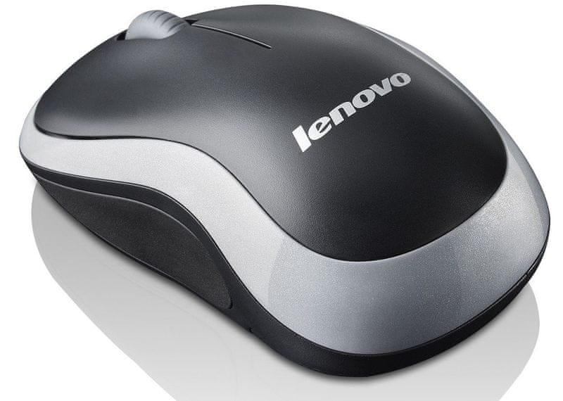Lenovo bezdrátová optická myš N1901, šedá (888013314)