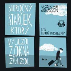 Jonasson Jonas: Storočný starček, ktorý vyliezol z okna a zmizol - KNP (audiokniha)