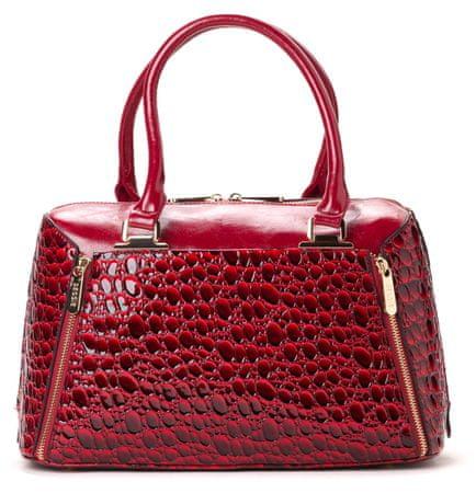 Bessie London ženska torbica crvena