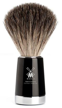 Mühle Liscio štetka na holenie Pure Badger, Black