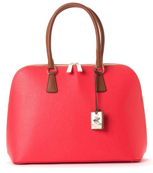 Beverly Hills Polo červená kabelka