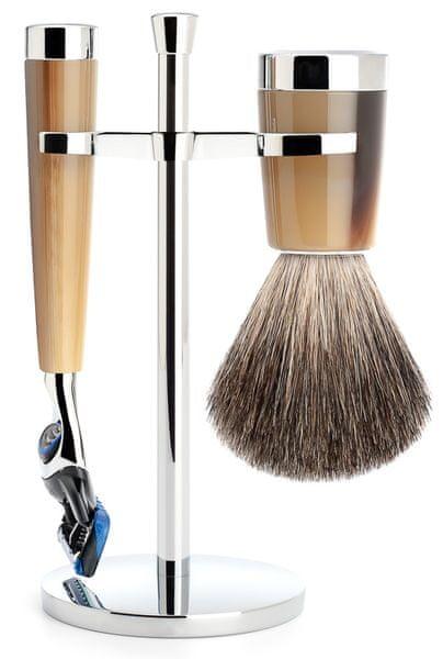 Mühle Liscio sada na holení, Pure Badger, Gillette Fusion, Brown