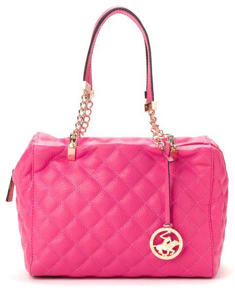 Beverly Hills Polo růžová kabelka