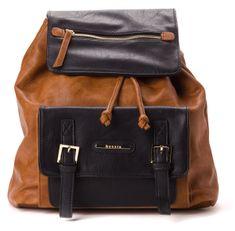 Bessie London hnědý batoh