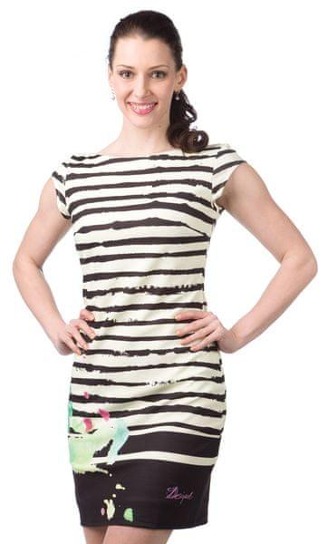 Desigual dámské šaty M smetanová