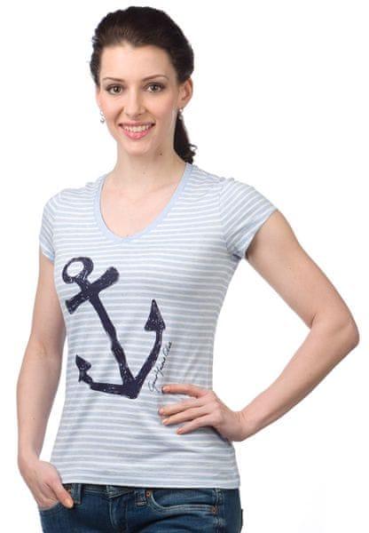 Gant dámské tričko L modrá
