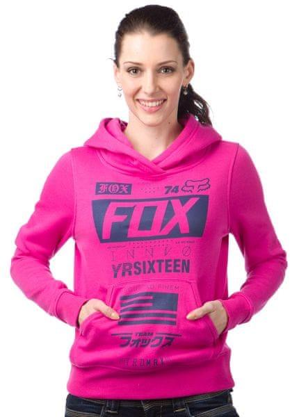 FOX dámská mikina Union Po Hdy M růžová