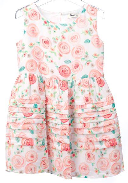Primigi dívčí šaty 116 bílá