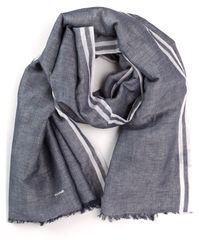 Gant modrý pánský šátek