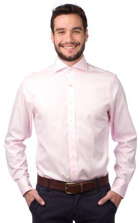Gant pánská košile L růžová