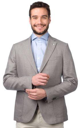 Gant pánské sako 52 šedá