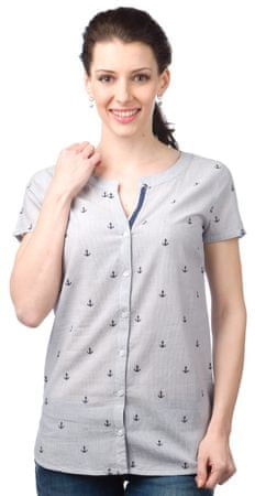 Brakeburn ženska srajca M svetlo modra