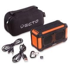Veho zvučnik sa povećanom otpornošću na vodu, sa punjačem 6000mah + torbica, narančasti VXS-002-ORG