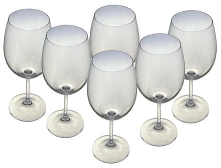 Toro set kozarcev za vino Lara, 450 ml, 6 kosov
