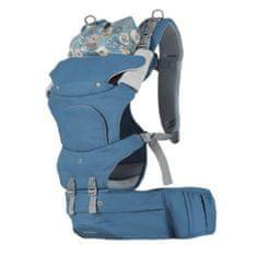 Nuvolino Nosič na dítě Active Hipseat, modrý - II. jakost