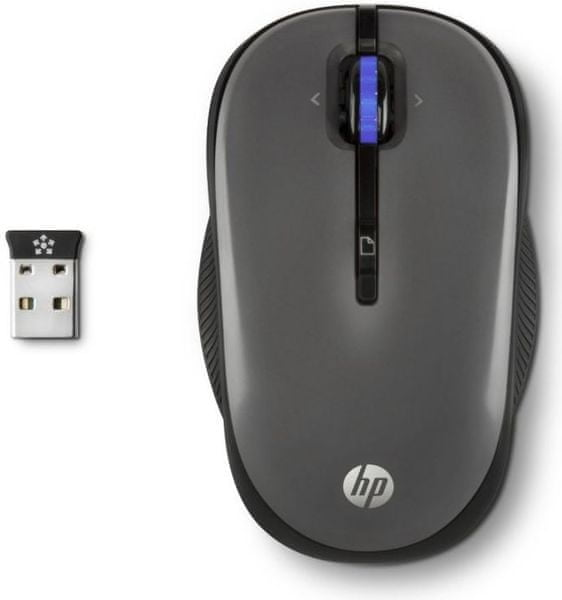 HP Wireless Mouse X3300 Gray (H4N93AA)