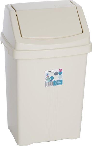 WHAM Odpadkový koš 25 l béžová