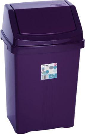 WHAM Odpadkový koš 25 l fialová