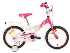 """Romet rower dziecięcy DIANA K 16"""" różowo-biały 8"""" model 2015"""