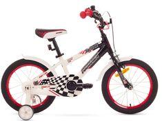 """Romet rower dziecięcy SALTO P 16"""" czarno-biały 9"""" model 2015"""