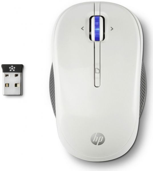HP Wireless Mouse X3300 White (H4N94AA)