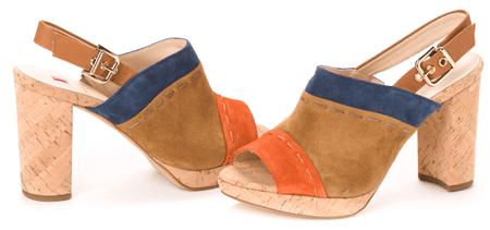 Högl ženski sandali 39 večbarvna