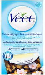 Veet Voskové pásky pro citlivou pokožku 40 ks