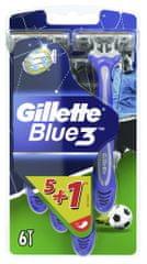 Gillette Blue3 FOOTBALL 5+1ks
