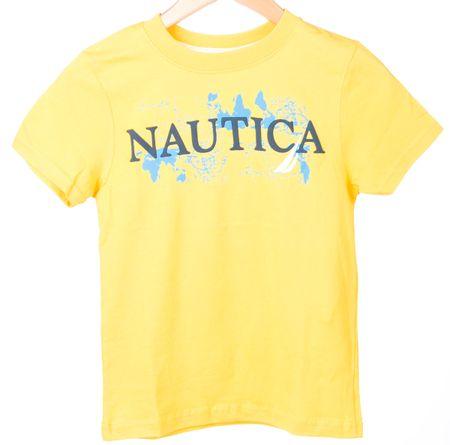 Nautica chlapčenské tričko 110 žltá