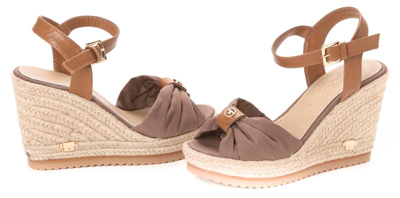 Tom Tailor dámské sandály 41 hnědá