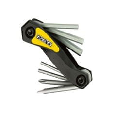 PEDROS orodje Folding Hex Set with Screwdrivers
