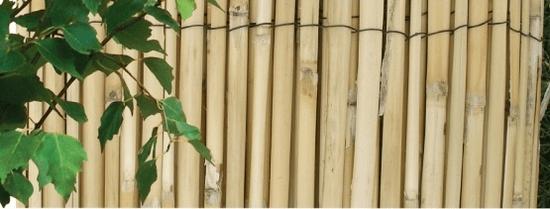 NOHEL GARDEN Osztott bambuszkerítés 1x5 m