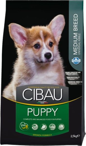 Farmina Cibau Puppy Medium 2,5kg