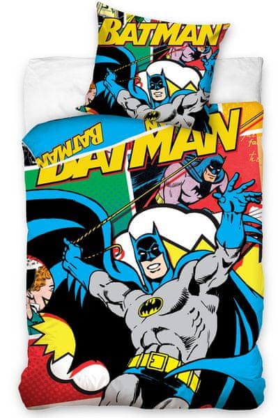Carbotex Dětské povlečení Batman - Komiks