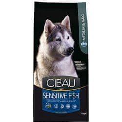 Farmina hrana za odrasle pse velikih in srednje velikih pasem Cibau, riba in riž, 2,5 kg