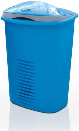 Meliconi Kosz na pranie 50+10 l, niebieski