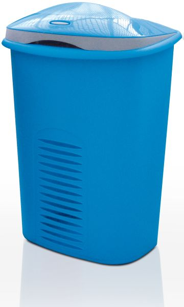Meliconi Koš na prádlo 50+10 l modrá