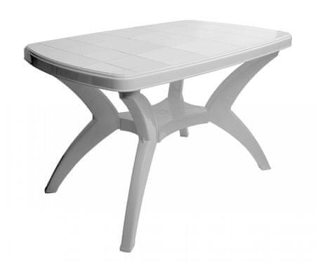 MEGA PLAST duży stół MP462 CENTO 73x70x120cm biały