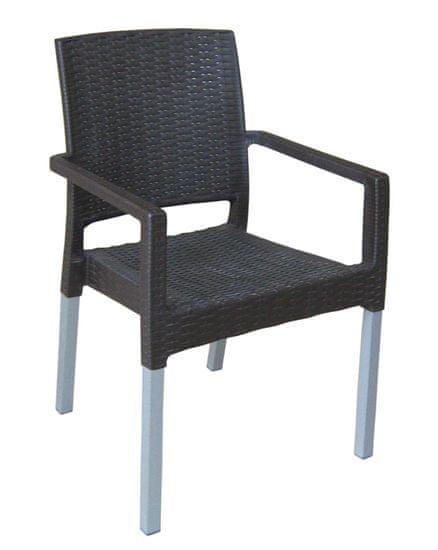 MEGA PLAST krzesło MP692 RATAN LUX